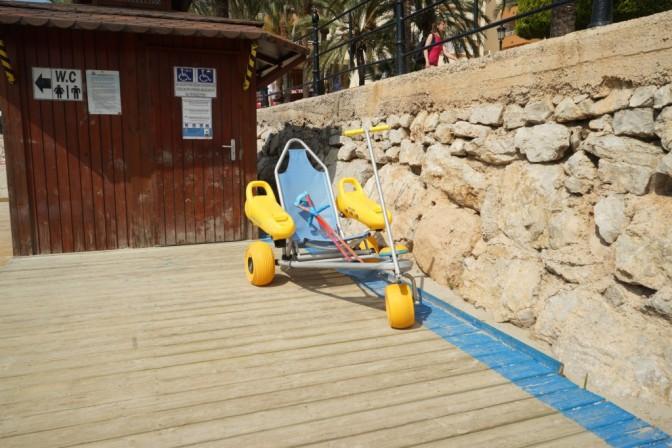 Beach Wheelchair in Santa Eulalia