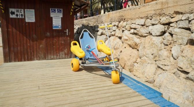 Beach Wheelchair in Santa Eulalia